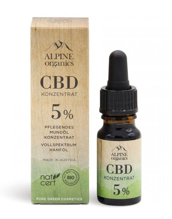 Alpine Organics | CBD Konzentrat 5%
