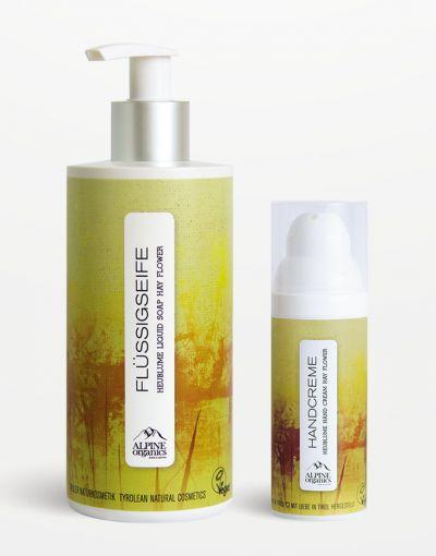 Alpine Organics - Aktionsset Handpflege Heublume