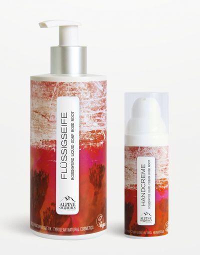 Alpine Organics - Aktionsset Handpflege Rosenwurz