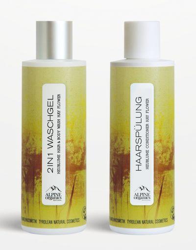 Alpine Organics - Aktionspaket Haarpflege Heublume