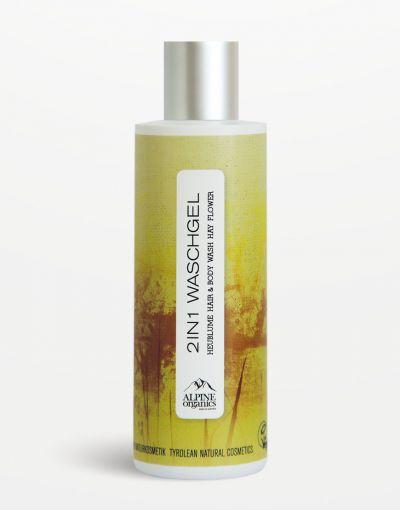Alpine Organics - 2in1 Waschgel Heublume 200 ml