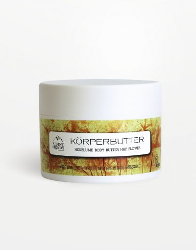 Alpine Organics - Körperbutter Heublume 250 ml