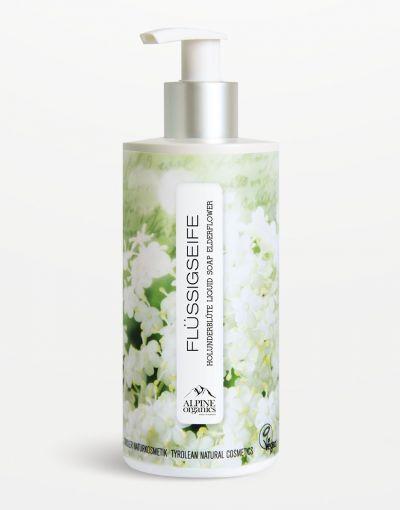 Alpine Organics - Flüssigseife Holunder 290 ml
