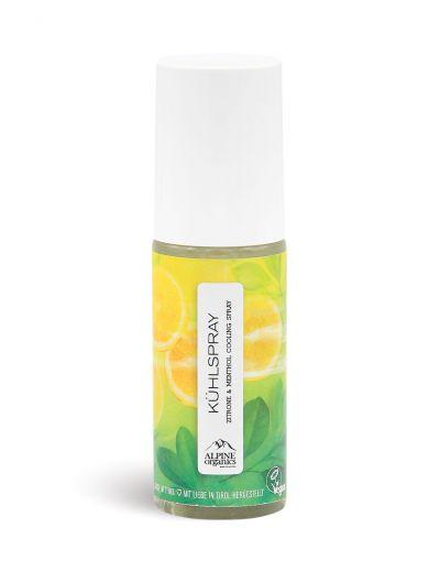 Alpine Organics - Kühlspray Zitrone & Menthol 100 ml