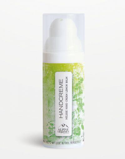 Alpine Organics - Handcreme Zitronenmelisse 50 ml