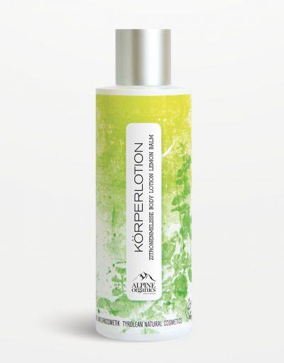 Alpine Organics - Körperlotion Zitronenmelisse 200 ml