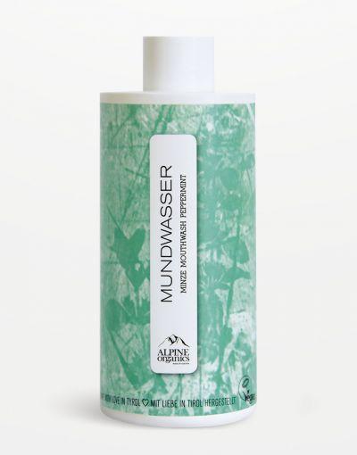 Alpine Organics - Mundwasser Minze 290 ml