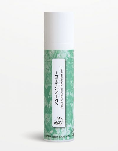 Alpine Organics - Zahncreme Minze 75 ml