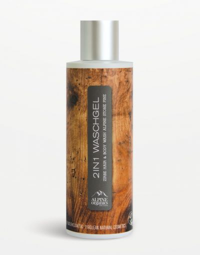 Alpine Organics - 2in1 Waschgel Zirbe 200 ml