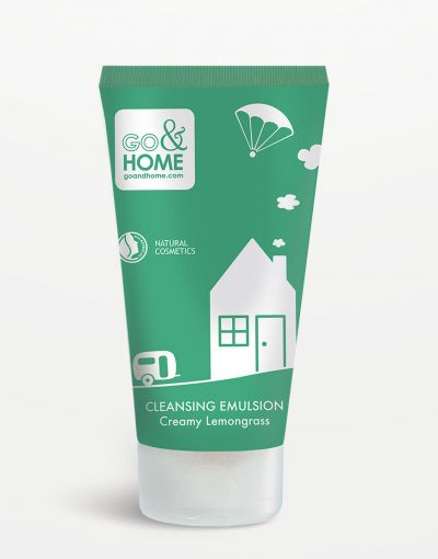 Go&Home - Cleansing Emulsion Creamy Lemongrass 150 ml