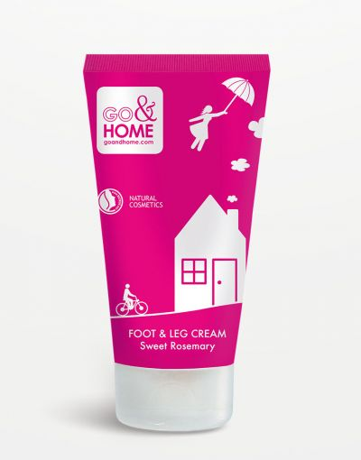 Go&Home - Foot & Leg Cream Sweet Rosemary 150 ml