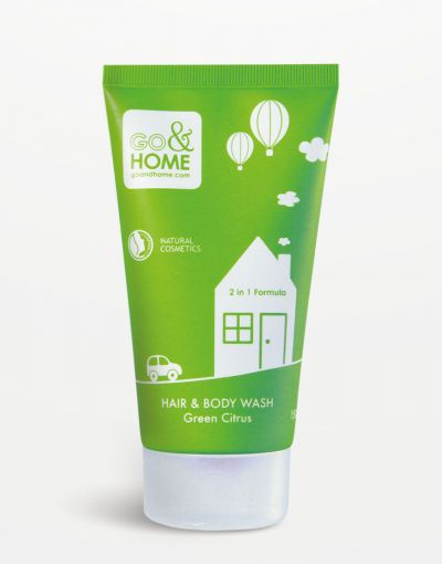 Go&Home - Hair & Bodywash Green Citrus 150