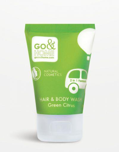 Go&Home - Hair & Bodywash Green Citrus