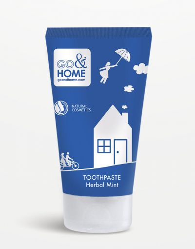 Go&Home - Toothpaste Herbal Mint 75ml