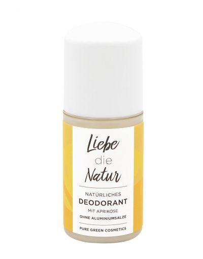 Liebe die Natur - natürliches Deo Roll-On Aprikose - 50 ml