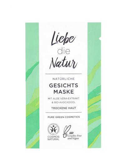 Liebe die Natur | natürliche Gesichtsmaske Aloe Vera