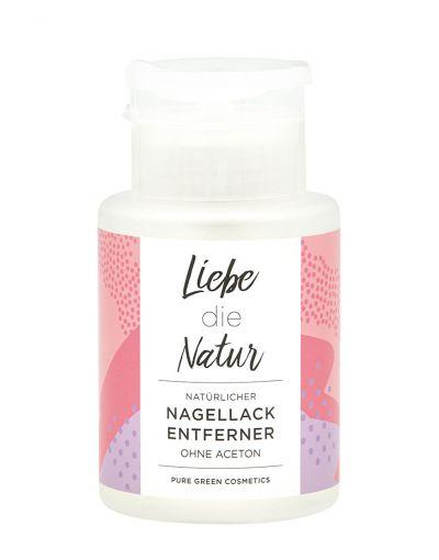 Liebe die Natur | natürlicher Nagellackentferner | Limited Edition