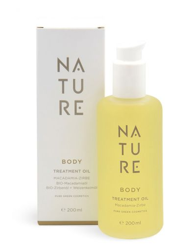 Nature - Body Treatment Oil Macadamia-Zirbe 200 ml