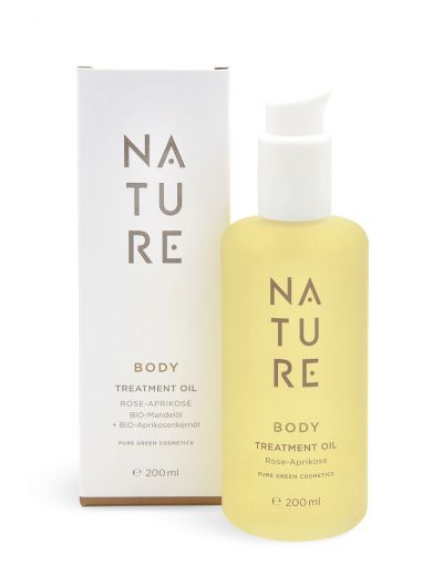 Nature - Body Treatment Oil Rose-Aprikose 200 ml