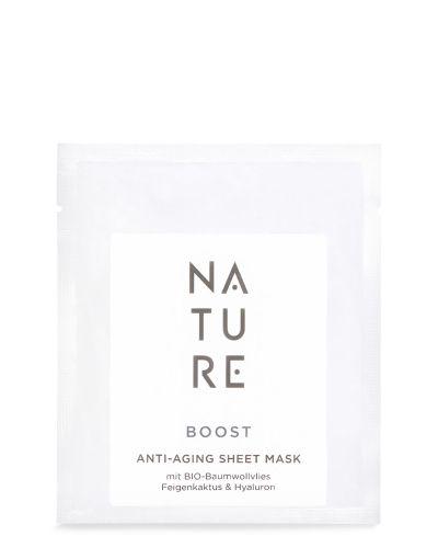NATURE | Boost | Anti Aging Baumwoll Tuchmaske