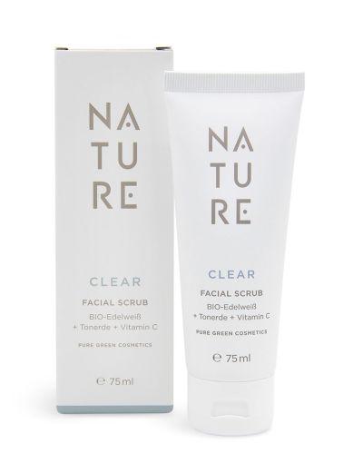 Nature - Clear Cleansing Facial Scrub 75 ml