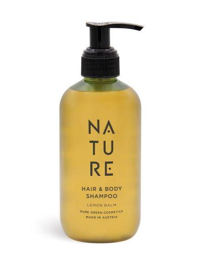 NATURE | Hair & Body Shampoo Lemon Balm 250 ml
