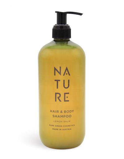 NATURE | Hair & Body Shampoo Lemon Balm 500 ml
