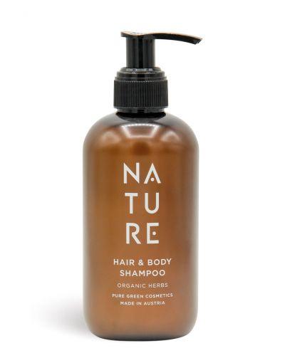 NATURE | Hair & Body Shampoo Organic Herbs 250 ml