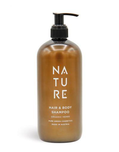 NATURE | Hair & Body Shampoo Organic Herbs 500 ml