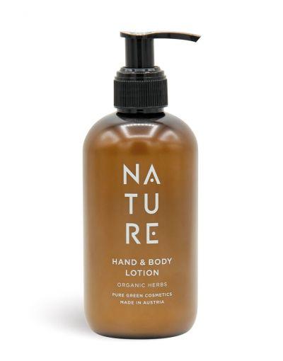 NATURE | Hand & Body Lotion Organic Herbs 250 ml