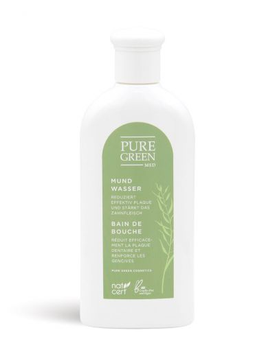 Pure Green MED | Basic Care | Mundwasser mit Grüntee Extrakt