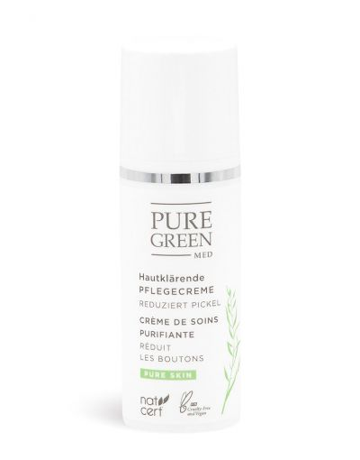 Pure Green MED | Pure Skin | hautklärende Pflegecreme