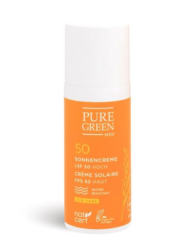 Pure Green MED | Sun Care | Sonnencreme LSF 50 sensitiv