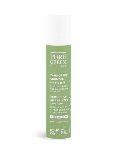 Pure Green MED | Basic Care | Zahncreme Grüntee mit Fluorid