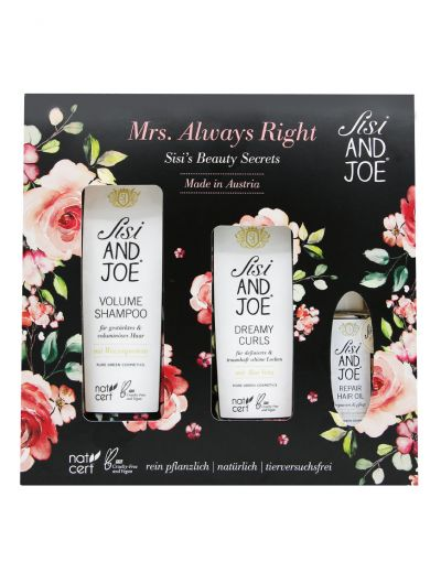 "Sisi AND JOE | Hair Care Set ""Mrs. Always Right"""